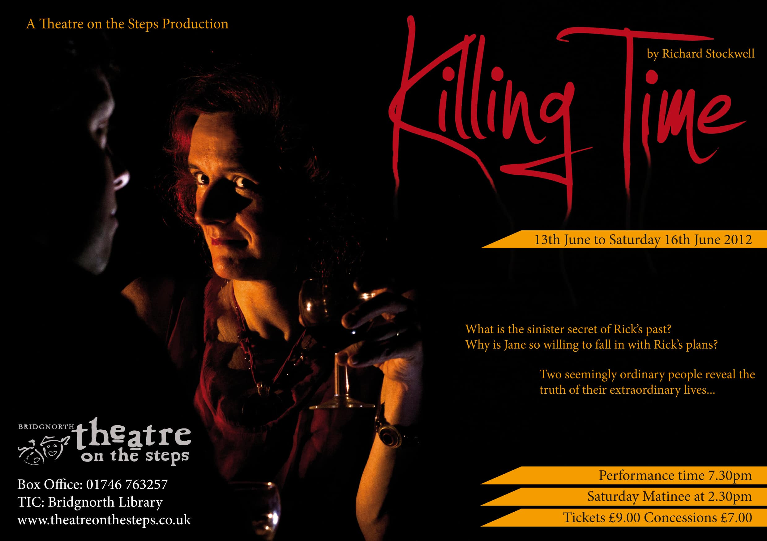 killing time A5 flyer.indd