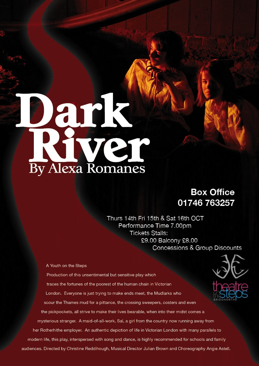 A3 dark river flyer