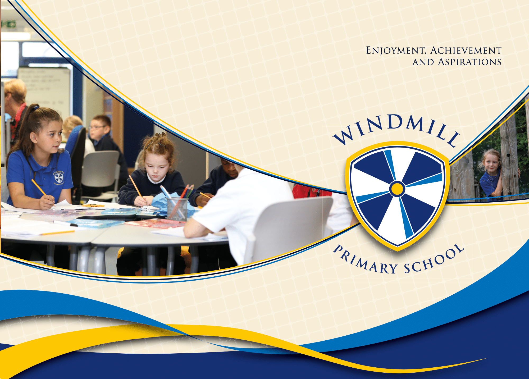 Windmill Primary School – Prospectus Cover