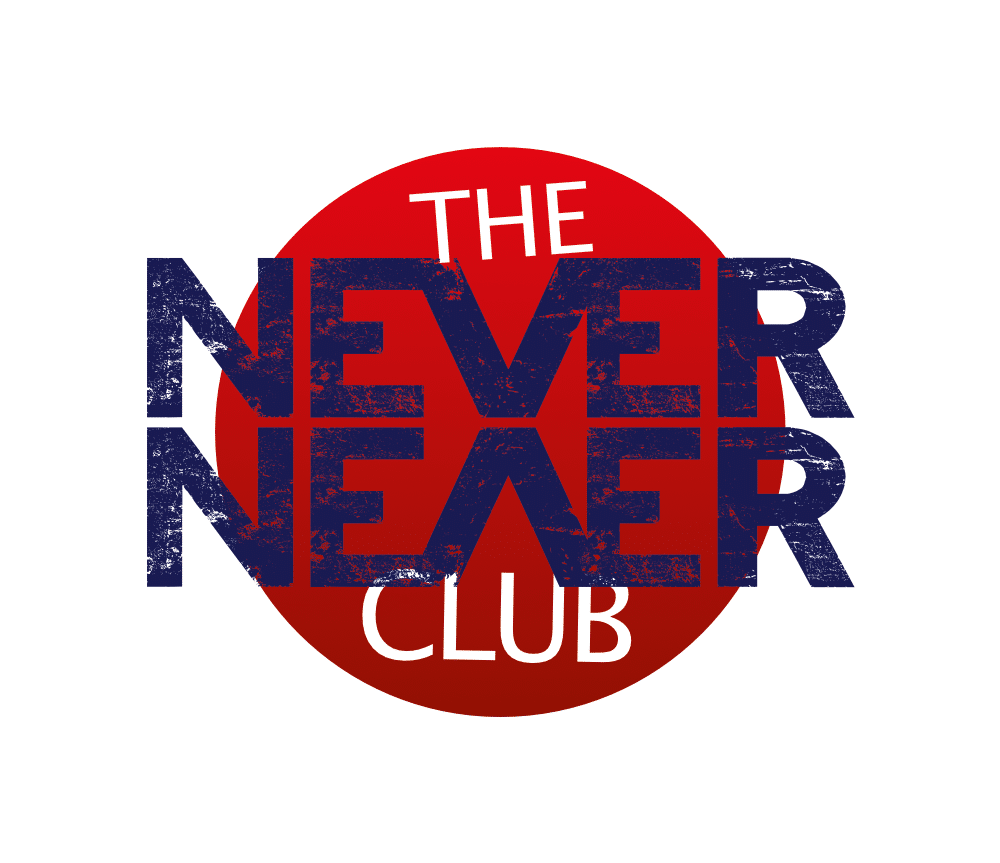 never never club logo final